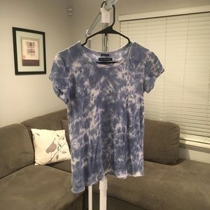 Abercrombie and Fitch garment Dyed shirt